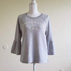 """Captain Marvel """"Actually, I can"""" Aerie Sweatshirt"""